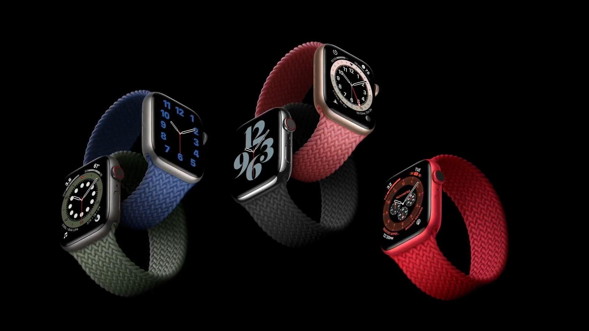 Изображение новости «Новые часы Apple Watch 6»