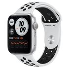 Превью-изображение №2 для товара «Apple Watch Nike Series 6 44mm Silver Aluminum Pure Platinum/Black Sport Band (GPS+CEL)»