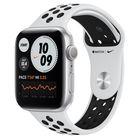 Превью-изображение №1 для товара «Apple Watch Nike Series 6 44mm Silver Aluminum Pure Platinum/Black Sport Band (GPS)»